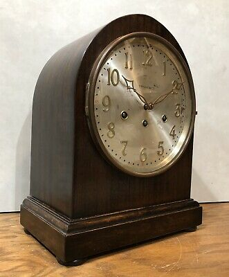 Tiffany & Co. German Westminster Chime Junghans Beehive Bracket Mantel Clock