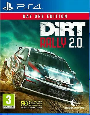 Dirt Rally 2.0 Day One Edition (PS4) - New & Sealed - UK Stock