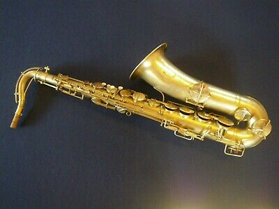 COUTURIER SILVER Bb TENOR SAXOPHONE - VINTAGE 1920'S ERA - IN PLAYING CONDITION
