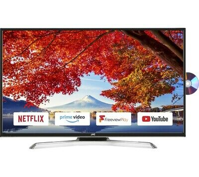 JVC 43 INCH SMART LED TV WITH BUILT IN DVD PLAYER - JVC, 43 Inch, Smart TV