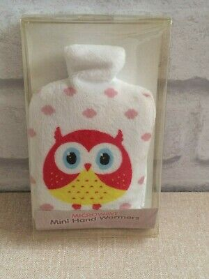 Owl Microwave Mini Hand warmer - New & Sealed Unwanted Gift Clearance