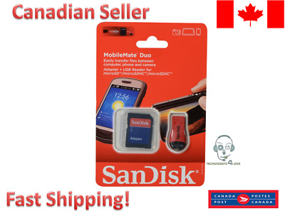 SANDISK ADAPTER microSD MICRO TO SD SDHC SDXC FIT 32GB 64GB 128GB E1100