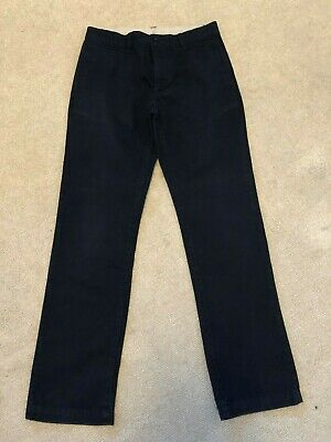 GAP - Navy Blue Chino Trousers - AGE 16 Years