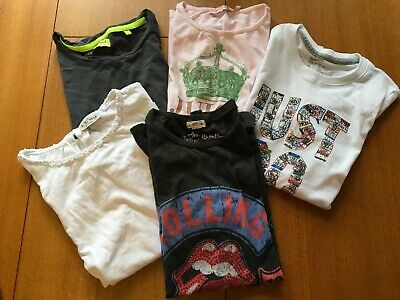 Bundle Girls 5 Tops  2  Next 1  Juicy Couture 1  Nike 1  River Island 8 / 10 Yrs
