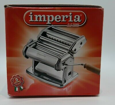 Imperia pasta maker machine stainless steel New Made in Italy