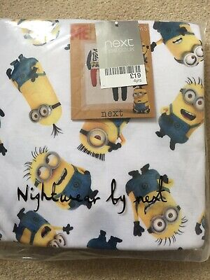 Next Boys Minions Pyjamas Bundle Size 4 Years New!