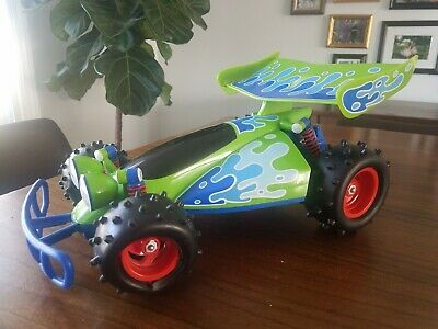 """14"""" Disney Toy Story RC Thinkway Toys Signature Collection Remote Control Car"""