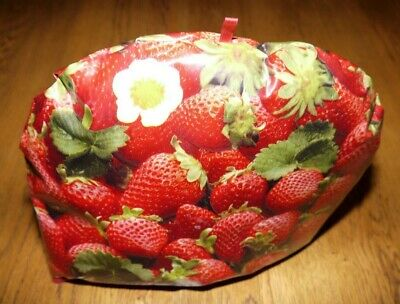 Strawberry Design Pvc Insulated Tea Pot Teapot Cosy Novelty Kitchen Cover