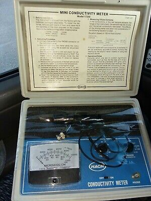 Hach Mini Conductivity Meter Probe Model 17261 (TESTED).