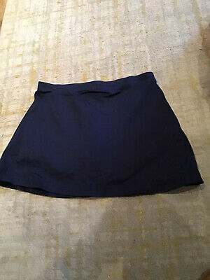 David Luke Hockey Navy Blue Girls Ladies PE Skort 70 cms 26/28 inch Waist
