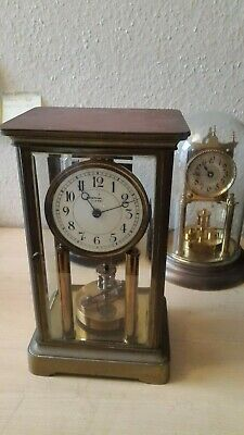 400 day clock, torsion dome clock, antique anniversary clock