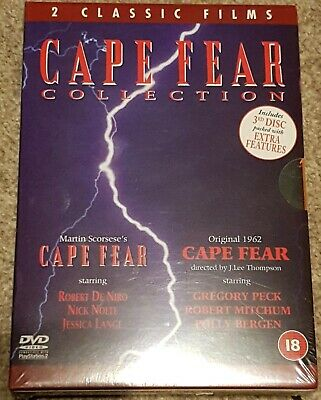 Cape Fear Collection (1962/1991 movies) (Three-DVD Set) (Brand New)
