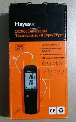 HayesUK  K/J Type Differential Thermometer -  DT-3630