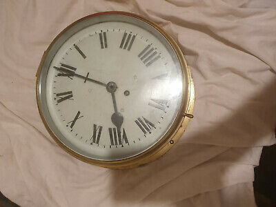 ships brass clock,,very large, smiths astral,,