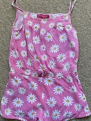 Girls Playsuit From Primark 4-5 Years