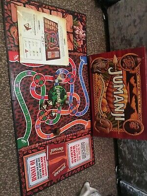 Jumanji Original Board Game Great Condition And 100% Complete!!