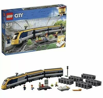 LEGO City Passenger RC Train Toy Construction Set - 60197 NEXT DAY DELIVERY 📦