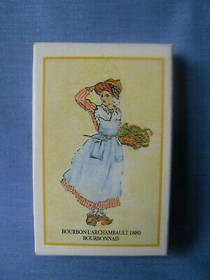 Vintage French Playing Cards Traditional Costumes - Complete - Excellent.