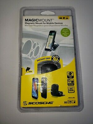 SCOSCHE MAGDM MAGICMOUNT magnetic mount work with IPhone 6, 6 plus, Tablet, Gps