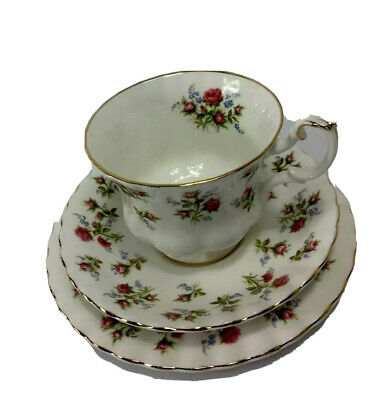 Royal Albert Bone China High Tea Set For One Winsome  England Cup Saucer & Plate