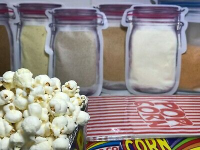 Popcorn Seasoning Cheese Garlic And Herb Butter  Flavour Hot Chips 120G