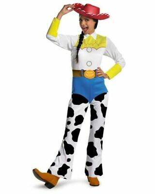RD 888842 Ladies Costume Fancy Dress Disney Licensed Toy Story Jessie Cowgirl