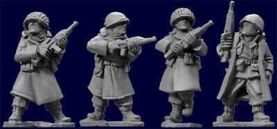Artizan Designs - SWW352 - US ARMY INFANTRY GREATCOATS w CARBINES - Bolt Action