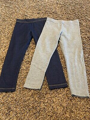 Set Of 2 Wonder Nation Leggings, Sz S(6-6X)