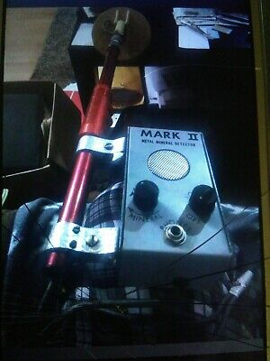 Mark ll  Classic II Coin Master Metal Detector  Used