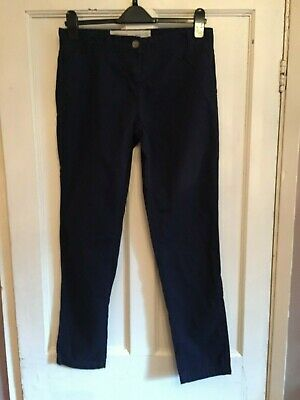 Ladies Navy Cotton Chinos from Next Size 8R