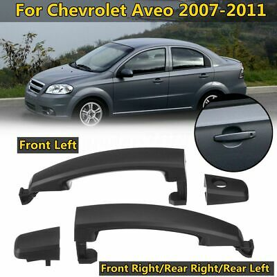 Inside Door Handle Chrome Lh Left Rh Right Pair For 07 09 Chevy Aveo G3 Wave Enlace Hn