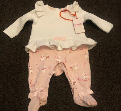 Ted Baker Girls Outfit Age 3-6 Months RRP £25 Gorgeous Worn Once