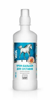 CREAM BALSAM FOR JOINTS WITH GLUCOSAMINE AND HONDROITHIN ZOOVIP 500ML horsepower