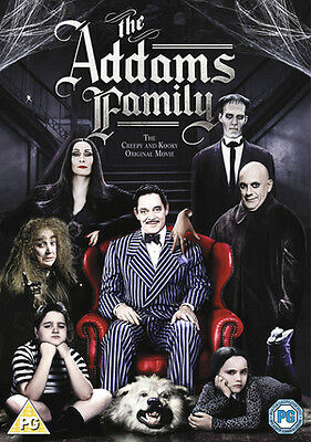 The Addams Family Dvd Christopher Lloyd Brand New & Factory Sealed