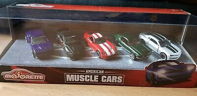 212053168 Majorette Mercedes American Muscle Cars Gift Pack 5pc