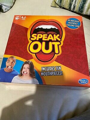Speak Out Board Game Brand New