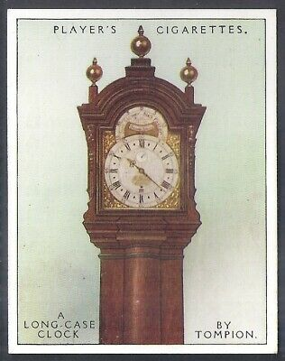 Players-Clocks Old & New-#17- Long Case Clock Thomas Tompion 1709