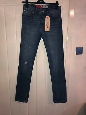 Levis 501blue Skinny Jeans Age 16 Years BNWT