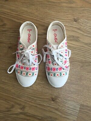 Cath Kidston Kids Shoes Trainers Pumps Girls Size 2