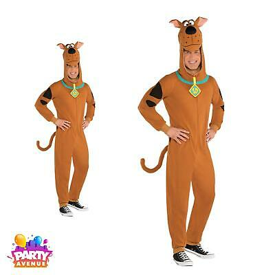 Adults Scooby Doo Fancy Dress Cartoon Character Outfit Mens Ladies Book Day