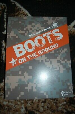 Boots On The Ground Worthington Games Unpunched Excellent Condition