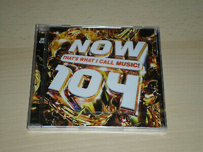 Now That`s What I Call Music 104. CD. Brand New & Still Sealed.