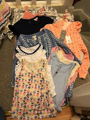 Small Girls Bundle Age 4-5 Years Ted Baker Monsoon George Tu Outfit Vests Dress