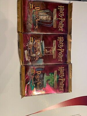 Harry Potter Dragon Alley Booster Trading Card Game brand new unopened packs
