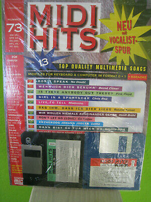 83 13 Mulitimedia Songs GM MIDIFILES-Neu orig MIDI HITS Nr verpackt