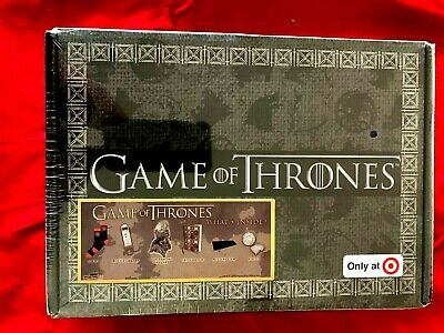 HBO Game Of Thrones Target Exclusive Culturefly Box SEALED Socks Pin Set Vinyl