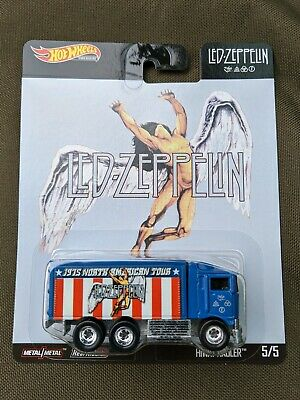 Hot Wheels Pop Culture Led Zeppelin Hiway Hauler 5/5 free shipping