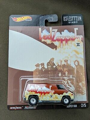 2020 Hot Wheels Premium Pop Culture Led Zeppelin Ii Super Van 2/5