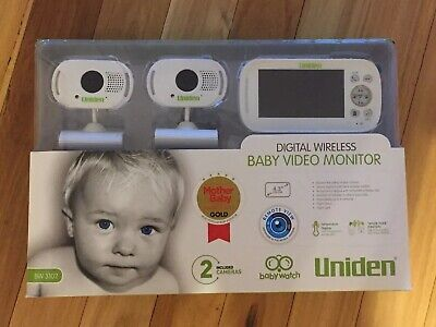 Uniden Wireless Baby Monitor With 2 Cameras
