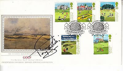 Tony JACKLIN Signed Autograph First Day Cover Golf CARNOUSTIE FIRST DAY COVER
